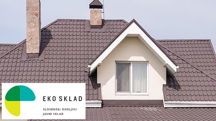 Nepovratna finančna sredstva EKO sklada za posameznike in pravne subjekte pri izolaciji strehe ali stropa proti neogrevanemu podstrešju